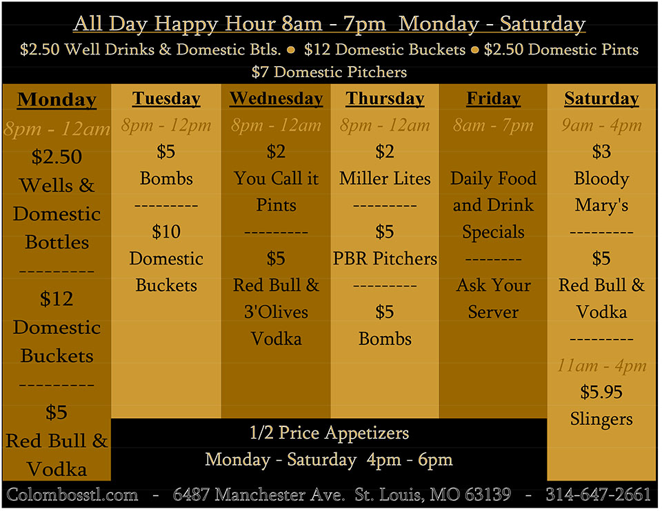 Happy Hour Specials 2012.nws